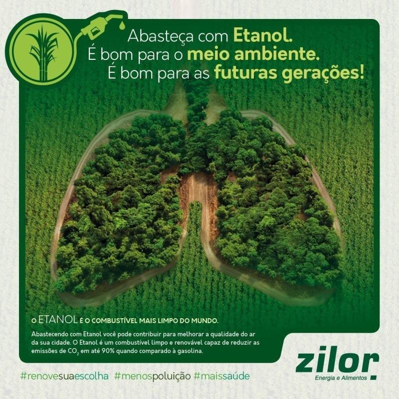Zilor faz parte do movimento #AbasteçacomEtanol