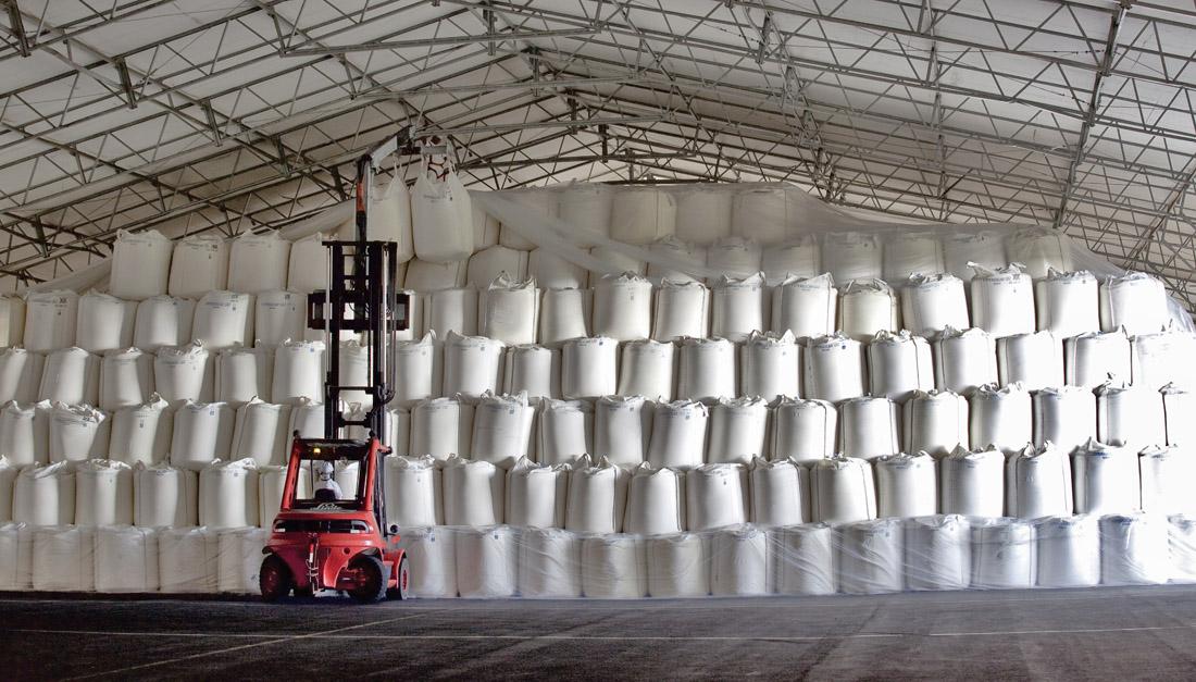 Zilor bate recorde de produção de açúcar branco