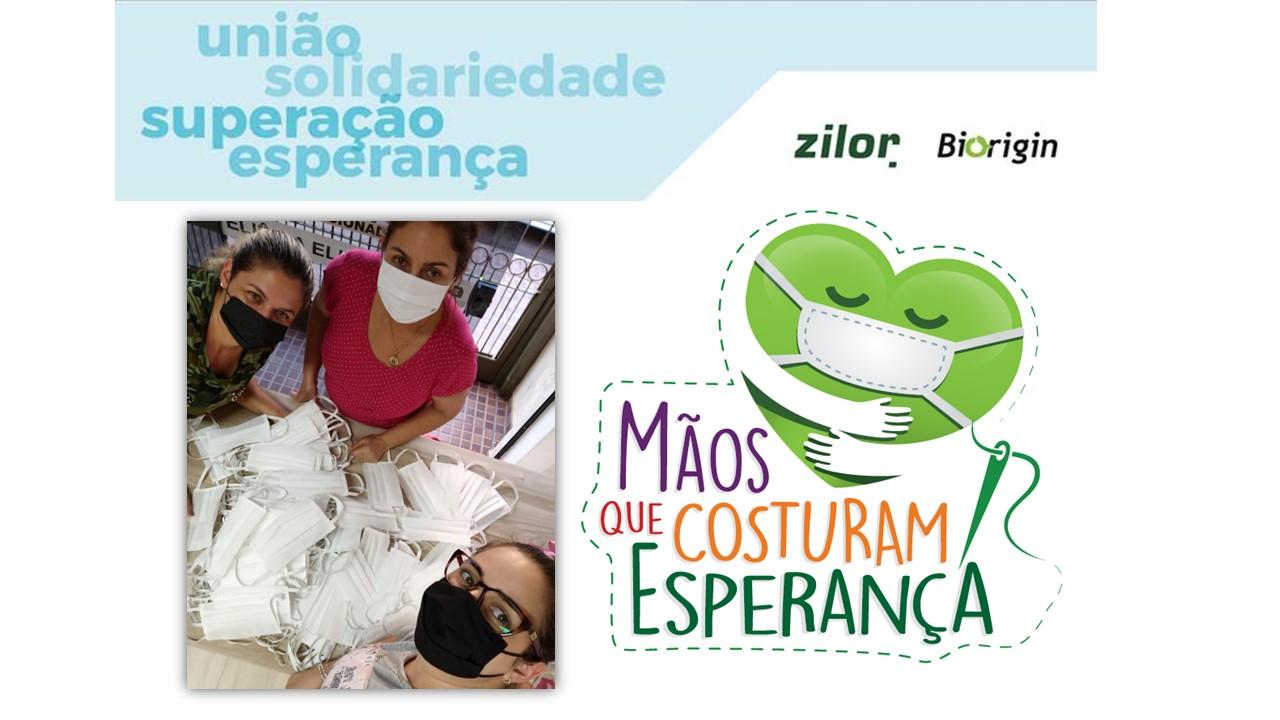 Zilor doa tecido para confecção de 2 mil máscaras de proteção