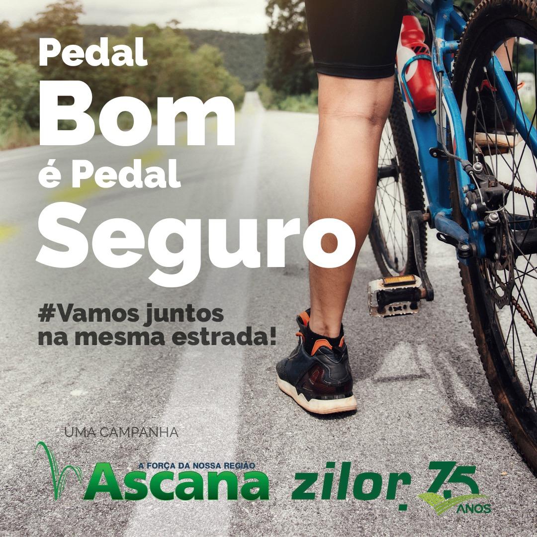 """No Maio Amarelo, Zilor e Ascana lançam campanha """"Pedal bom é pedal seguro!"""""""