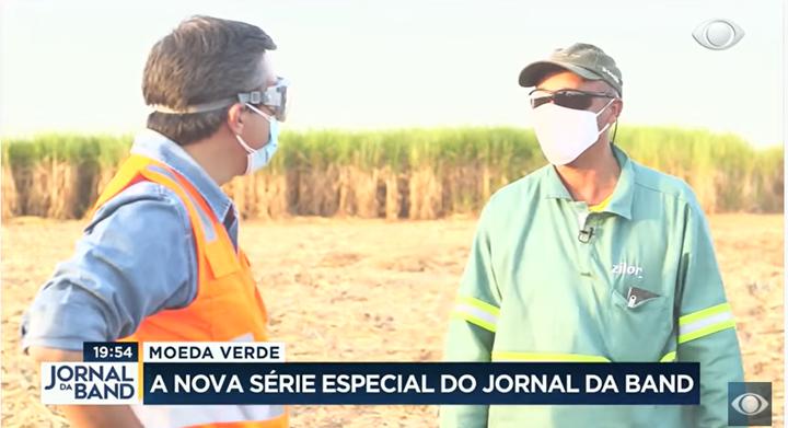 """Zilor participa de série especial """"Moeda Verde"""", no Jornal da Band"""