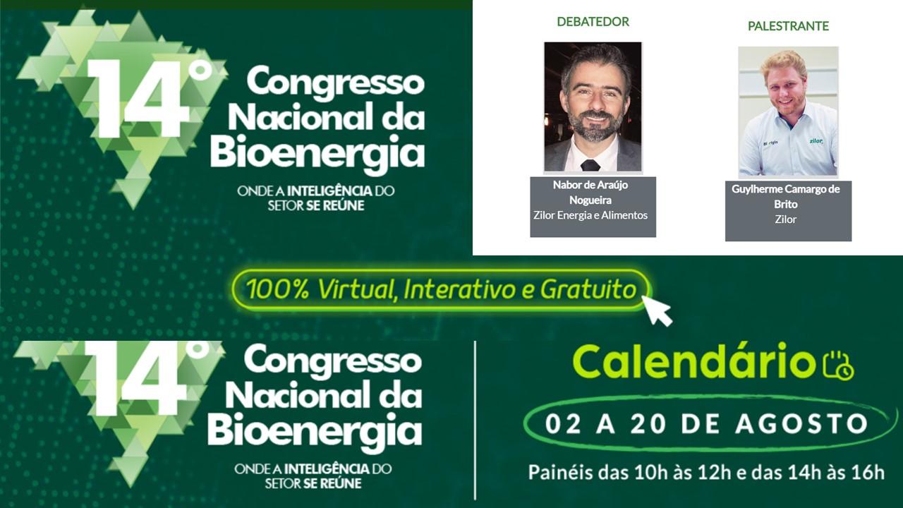 Zilor marca presença em Congresso Nacional de Bioenergia