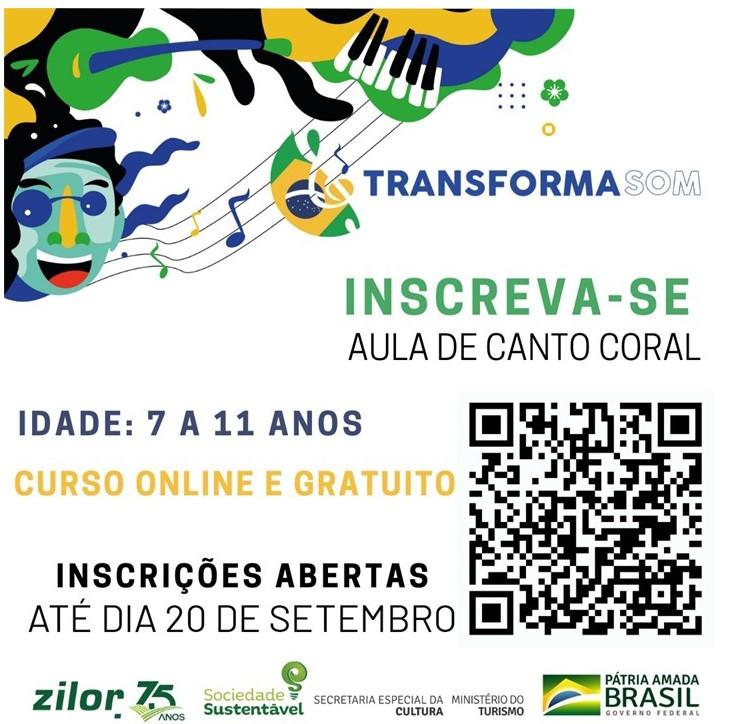 Zilor lança Projeto Transformasom para crianças  entre 7 e 11 anos