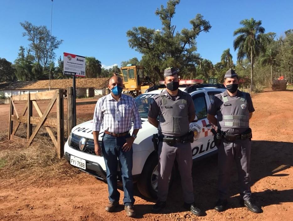 Zilor e Polícia Militar de Avaré promovem ação de Patrulha Rural