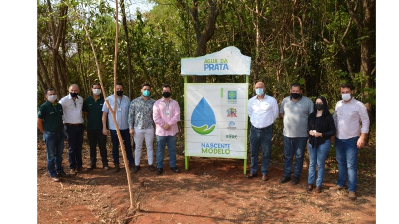 Zilor e Prefeitura de Lençóis Paulista iniciam projeto da Nascente Modelo Água da Prata